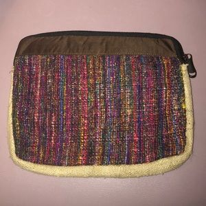 "Accessories - Tablet Case 10"" Nepal Fair Trade Hemp & Silk Fiber"